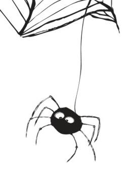 Die Spinne und der Regentropfen