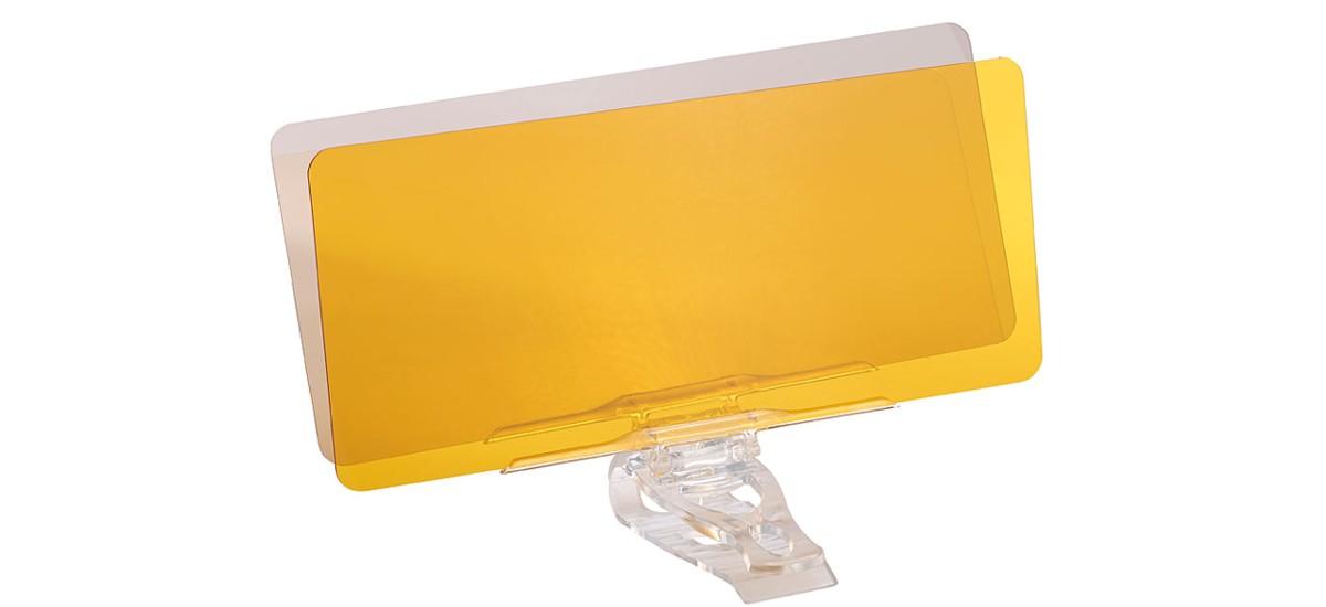 Plaste für eine sicherere Fahrt