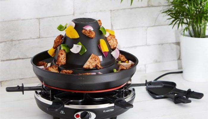 Dem Raclette-Essen 'ne Krone aufsetzen