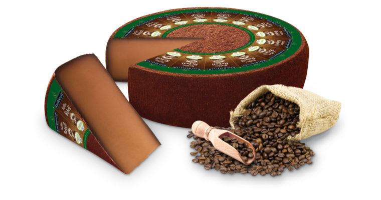 Einer der Renner der diesjährigen Biofach: die Käse-Kaffee-Symbiose